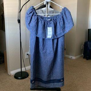 Brand new ZARA cute offshoulder one-piece dress